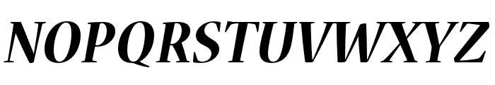 Nueva Std Bold Condensed Italic Font UPPERCASE