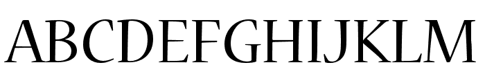 Nueva Std Condensed Font UPPERCASE
