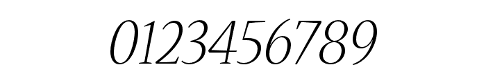 Nueva Std Light Extended Italic Font OTHER CHARS
