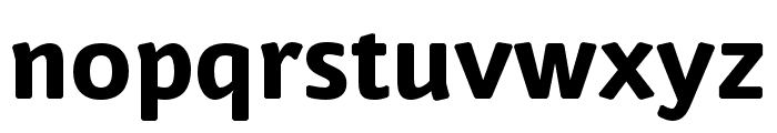 Nuvo Pro Extrabold Font LOWERCASE