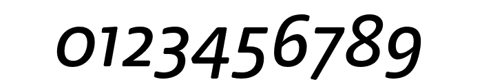 Nuvo Pro Medium Italic Font OTHER CHARS