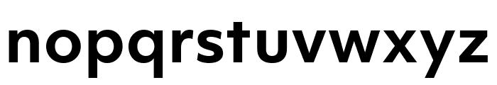 Objektiv Mk1 Bold Font LOWERCASE