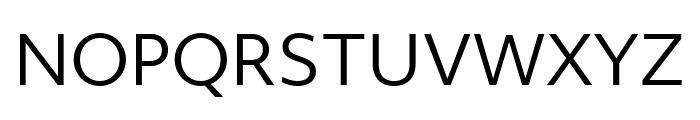 Objektiv Mk1 Regular Font UPPERCASE