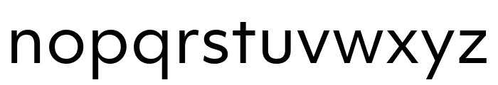 Objektiv Mk1 Regular Font LOWERCASE