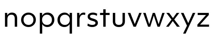 Objektiv Mk2 Regular Font LOWERCASE