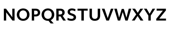 Objektiv Mk3 Bold Font UPPERCASE