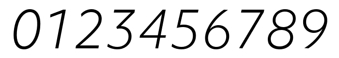 Objektiv Mk3 Light Italic Font OTHER CHARS
