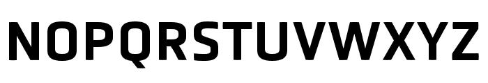 Obvia Wide Medium Font UPPERCASE