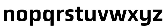 Obvia Wide Medium Font LOWERCASE