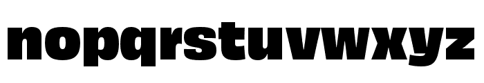 Obviously Compressed Black Font LOWERCASE
