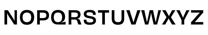 Obviously Medium Font UPPERCASE