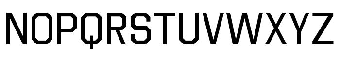 Octin Vintage A Regular Font LOWERCASE