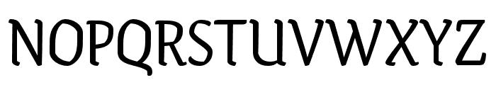 Ode Regular Font UPPERCASE