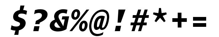 Odisseia Black Italic Font OTHER CHARS