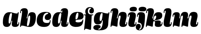 Ohno Blazeface 24 Point Italic Font LOWERCASE