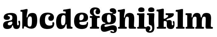 Ohno Blazeface 36 Point Italic Font LOWERCASE