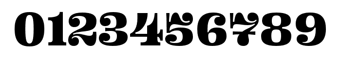 Ohno Fatface 12 Pt Compressed Font OTHER CHARS