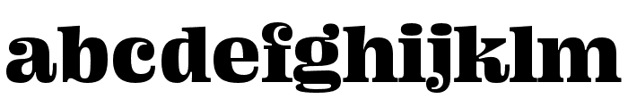 Ohno Fatface 14 Pt Compressed Font LOWERCASE