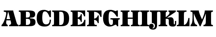 Ohno Fatface 14 Pt Narrow Font UPPERCASE