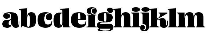 Ohno Fatface 24 Pt Font LOWERCASE