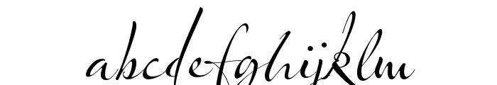 Olicana Rough Font LOWERCASE