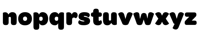 Omnes Narrow Black Font LOWERCASE