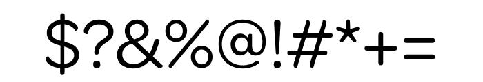 Omnes Regular Font OTHER CHARS