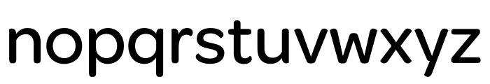 Omnes SemiCond Medium Font LOWERCASE