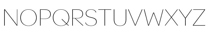 OmnesArabic Thin Font UPPERCASE