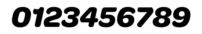 OmnesCyrillic Bold Italic Font OTHER CHARS