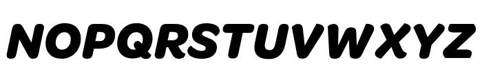 OmnesCyrillic Bold Italic Font UPPERCASE