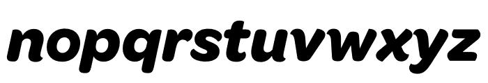OmnesCyrillic Bold Italic Font LOWERCASE