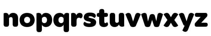 OmnesCyrillic Bold Font LOWERCASE