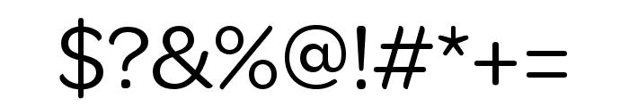 OmnesCyrillic Cond Regular Font OTHER CHARS