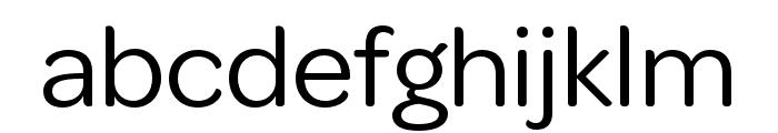 OmnesCyrillic Cond Regular Font LOWERCASE