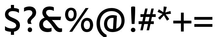 OmnesCyrillic Hairline Italic Font OTHER CHARS