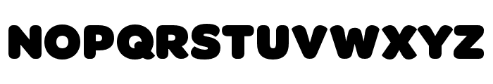 OmnesCyrillic Narrow Black Font UPPERCASE