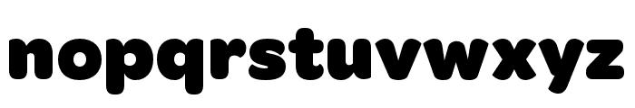 OmnesCyrillic Narrow Black Font LOWERCASE