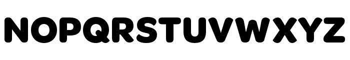OmnesCyrillic Narrow Bold Font UPPERCASE