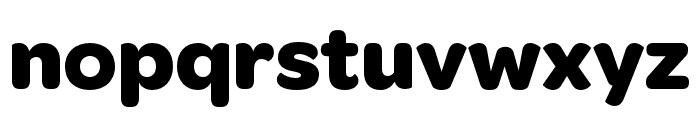OmnesCyrillic Narrow Bold Font LOWERCASE