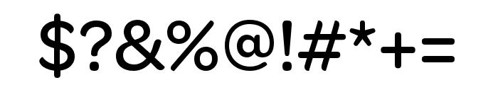 OmnesCyrillic Narrow Medium Font OTHER CHARS