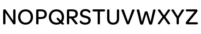 OmnesCyrillic Narrow Medium Font UPPERCASE
