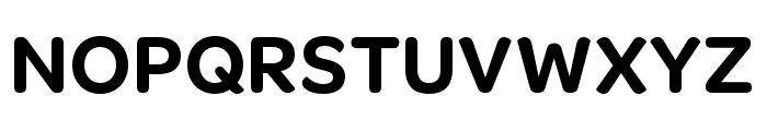 OmnesCyrillic Narrow SemiBold Font UPPERCASE