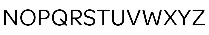 OmnesCyrillic Regular Font UPPERCASE