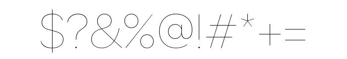 OmnesCyrillic SemiBold Italic Font OTHER CHARS