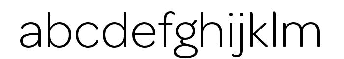 OmnesCyrillic SemiCond Light Font LOWERCASE