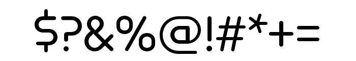 Omnium Medium Font OTHER CHARS