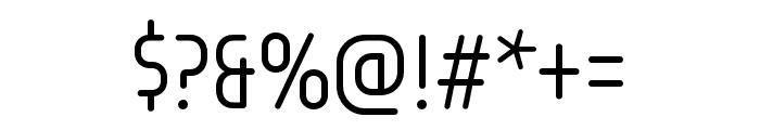 Omnium Tagline Light Font OTHER CHARS