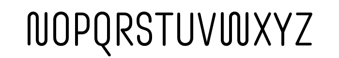 Omnium Tagline Light Font UPPERCASE