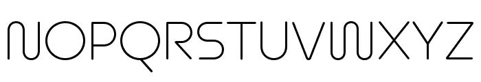Omnium Thin Font UPPERCASE